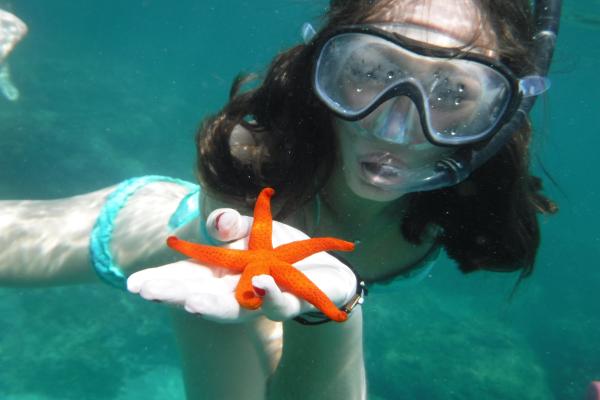 snorkel l'ametlla de mar terres de l'ebre costa daurada